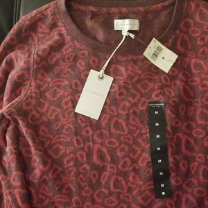 NWT LUCKY BRAND Patterned Sweatshirt